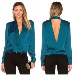 LOVERS + FRIENDS SILKY TOP HOUSE CB REFORMATION